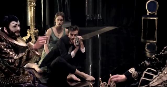 Hamlet kuvaa näytelmää III2
